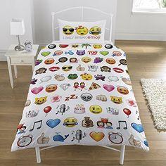 Multi Emoji conjunto de funda de edredón, cama individual... https://www.amazon.es/dp/B01GOJA43I/ref=cm_sw_r_pi_dp_x_TYarybWA4H87W