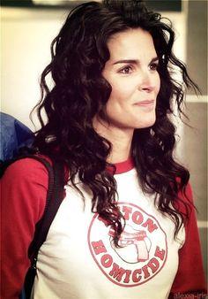 Jane getting ready to play softball (: