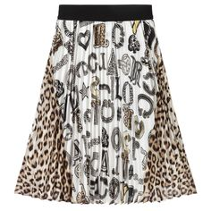 Pleated Skirt, Sequin Skirt, Skirts For Kids, Kids Online, Cool Logo, Roberto Cavalli, Affordable Fashion, Tie Dye Skirt, Cotton