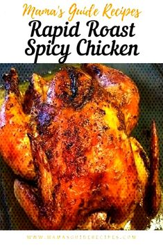 Roast Spicy ChickenYou can find Baked whole chicken recipes and more on our website.Rapid Roast Spicy ChickenRapid Roast Spicy ChickenYou can find Baked whole chicken recipes and more on our website. Baked Whole Chicken Recipes, Buffalo Chicken Dip Recipe, Whole Roasted Chicken, Roast Chicken Recipes, Stuffed Whole Chicken, Whole Roast Chicken Recipe, Sausage Recipes, Turkey Recipes, Spicy Roast Chicken