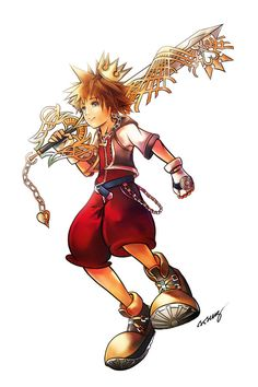 Sora - Kingdom Hearts