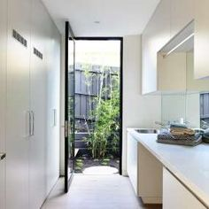 Golden rules of laundry design - Canny Group - Melbourne Homes - Architecture - Interior Design Laundry Closet, Laundry In Bathroom, Small Space Interior Design, Melbourne House, Ideas Hogar, Laundry Room Design, Home Interior, Interiores Design, Home Renovation