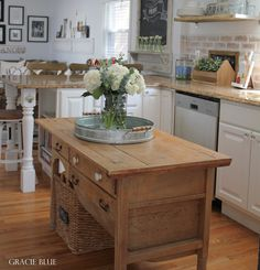 The time has come...   I am finally sharing my white kitchen reveal.   This was literally months in the making. Last year at this time I wa...