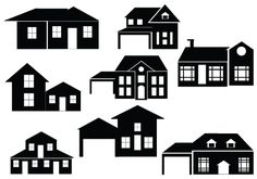 Download and get the EPS, PNG and JPEG files of House Silhouette Vector which is an ideal choice to do apartment vector illustrations and graphics.