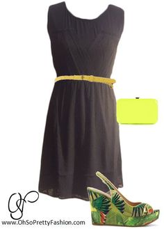 We all need a little black dress!   Dress available on www.ohsoprettyfashion.com