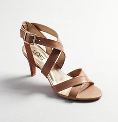 Wish the weather were nice enough to wear these... (Loft.com, $79.50)
