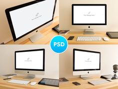 iMac Mockups by alexbyrne on Creative Market