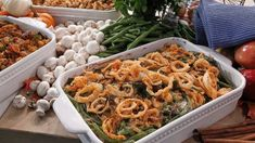 Emerilized (From Scratch) Green Bean Casserole Recipe | Emeril Lagasse | Recipe - ABC News