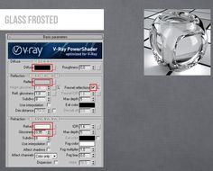 Vray Glass Frosted