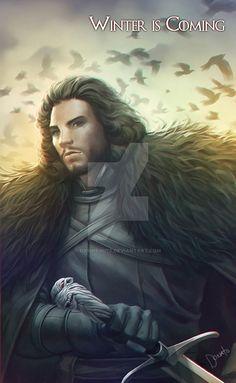 Jon Snow by Samuel Donato