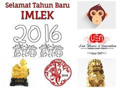 Happy Chinese New Year 2016 Selamat Tahun Baru Imlek 2016  www.LienGallery.com  #ChineseNewYear #CNY #LienGallery #Monkey #CNY2016 #Imlek #TahunBaruImlek #imlek2016 #TahunBaruCina #monyet #monyetEmas
