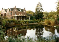 Old manor estate home. Rustenhoven, former Barometermuseum, Ethne and Bert Bolle.