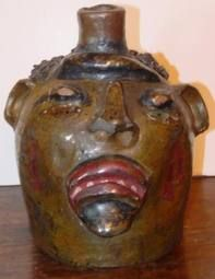 South Carolina Face Jug
