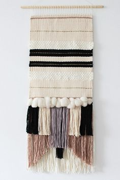 MADE TO ORDER Woven wall hanging   Wall tapestry   Wall weaving   Fiber art…