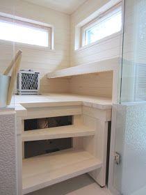 Decor, Sauna Design, Loft, Loft Bed, Furniture, Shelves, House, Home Decor, Bathroom