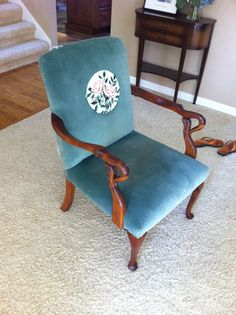 Nana's Chair- Reupholster