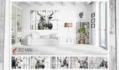 Home art ideas for the lounge. This Nguni cow art work brings a perfect African feel to the home.