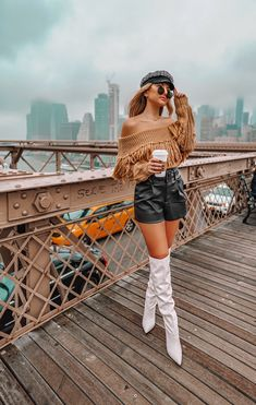 Fall Adventures on the Brooklyn Bridge