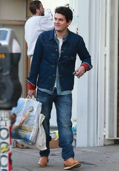 John Mayer wears Visvim Denim Jacket, Four Corners Shirt, and Wabanaki Boots | UpscaleHype
