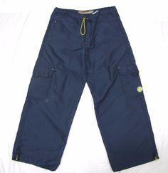 JNCO Jeans Solid State Large Big Baggy Wide Leg RARE Vintage Rave Club Nylon USA #JNCO #BaggyLoose