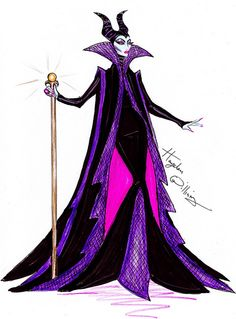 'Disney Villainess' collection by Hayden Williams - Maleficent by Fashion_Luva, via Flickr