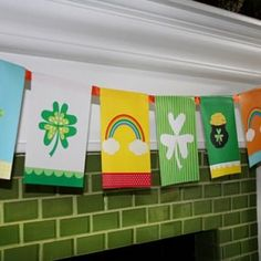 Free Printable Colorful St. Patrick's Day Banner