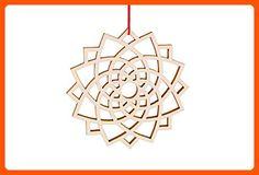 Lotus Winter Flower Ornament - Fun stuff and gift ideas (*Amazon Partner-Link)