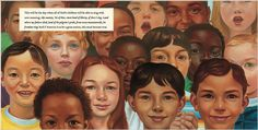 I Have a Dream book illustrated by Kadir Nelson bring's Dr King's speech to life.