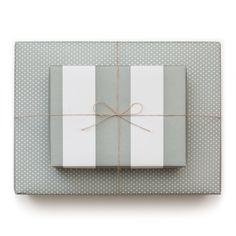 reversible gift wrap: Sugar Paper, Los Angeles
