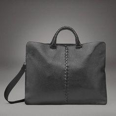 Botega Veneta Nero Toro Travel Bag 2