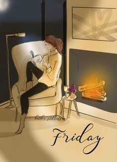 Friday Reading a book Rose Hill Designs © by Heather Stillufsen Rose Hill Designs, Viernes Friday, Hello Weekend, Hello Friday, Happy Friday, Photo Images, Its Friday Quotes, Friday Feeling, Jolie Photo