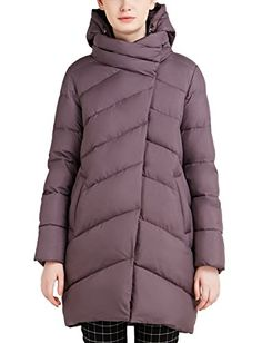 ICEbear Women's Thick Winter Jacket Quilted Coat Plus Size [16G6220]