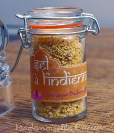Indian Home Spiced Salt (Gourmet Gifts) - Cooking Recipe ~ Mademoiselle Cuisine: recipes, tips, cooking news Mason Jar Drinks, Mason Jar Meals, Meals In A Jar, Cooking Tips, Cooking Recipes, Gifts For Cooks, Gourmet Gifts, Jar Gifts, Spice Mixes
