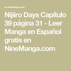 Nijiiro Days Capítulo 39 página 31 - Leer Manga en Español gratis en NineManga.com