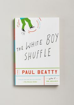The White Boy Shuffle cover design by Oliver Munday (Picador)