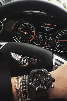 "envyavenue: "" Bentley X Audemars Piguet "" Audemars Piguet Gentleman's Essentials"