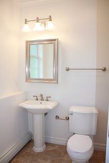 Extend Vanity Light Over Medicine Cabinet : Well-Edited: Bathroom Sinks 1930s and Duravit