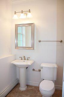 Flexstone walls with shower base bath renovation pinterest end of showers and shower base for Bathroom lighting over medicine cabinet