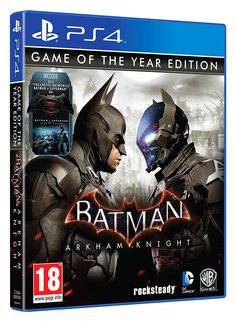 Batman: Arkham Knight - Game of the Year Edition [PlayStation Batman Arkham Knight Ps4, Batman Ps4, Batman Ninja, Batman Arkham City, Batman And Superman, Batman Comics, Dc Comics Games, Comic Games, Xbox One Games