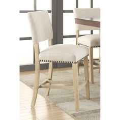 Lowest price online on all Avenue Six Carson Counter Stool in Linen - CSN24-L32