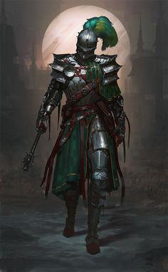 Fantasy knights art - Imgur