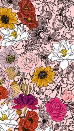 Wallpaper Flores Diversas by Gocases Diverse Flowers Wallpaper by Gocases, flores, flowers, roses, p Flower Phone Wallpaper, Iphone Background Wallpaper, Screen Wallpaper, Girly Wallpaper, Emoji Wallpaper, Rose Wallpaper, Disney Wallpaper, Desktop Wallpapers, Wallpaper Quotes