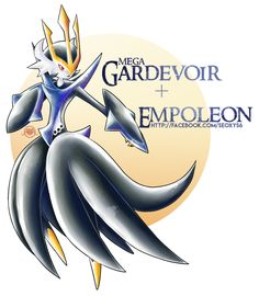 [Closed] Empoleon x Mega Gardevoir by Seoxys6.deviantart.com on @DeviantArt