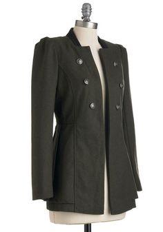 I Commodore You Coat, #ModCloth
