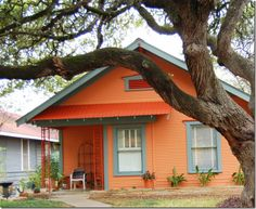 Colorful Exterior 2 Tone Mango Is The Intended Paint For Trim On Our Rectangular