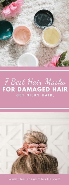 The 7 Best Hair Masks for Damaged Hair - Chanel Skincare - Ideas of Chanel Skincare - Have dry damaged hair? These 7 hair masks will help make your hair look and feel healthy again. Bleach Damaged Hair, Hair Mask For Damaged Hair, Best Hair Mask, Diy Hair Mask, Hairstyles For Round Faces, Hairstyles With Bangs, Diy Hairstyles, Updo Hairstyle, Wedding Hairstyles