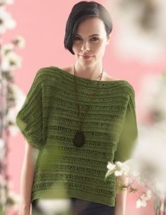 A summer essential, the Drop Stitch Jade Top will keep you feeling fresh and fabulous even on the hottest of days. This lacy knit top pattern features the drop stitch and is worked in one piece from front to back. Knitting Patterns Free, Knit Patterns, Free Knitting, Knitting Needles, Free Pattern, Sweater Patterns, Stitch Patterns, Knitting Daily, Summer Knitting