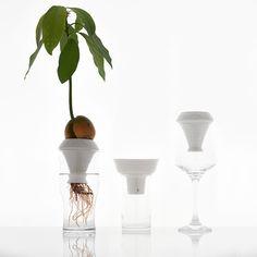Porcelain hydroponic plant grower – DOWSE