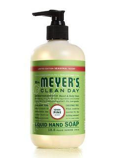 mrsmeyers iowa pine hand soap