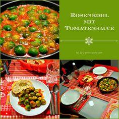 Sprossenkohl mit Tomatensauce